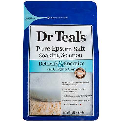 Pure Epsom Salt Soaking Solution with Giner & Clay
