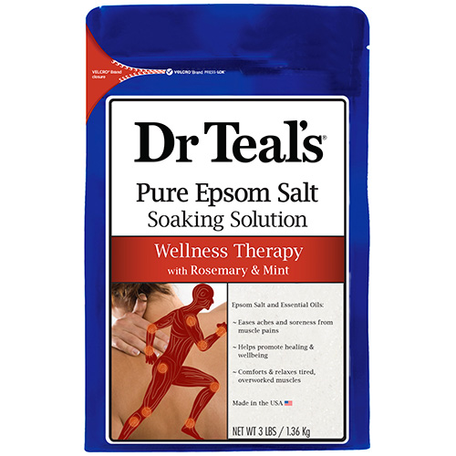 Pure Epsom Salt Soaking Solution Wellness Therapy